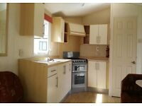static caravan for sale on a top park in south Devon for £15,995 including site fees pets welcome