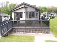 3 bedroom lodge for sale - sea views/ direct beach access in New Milton BH25 7RE
