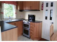 cheap 3 bed static holiday home for sale in Devon on a pet friendly park 11 month season