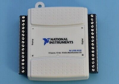 Ni Usb-6008 Usb Data Acquisition Card Multifunction Usb Daq 779051-01