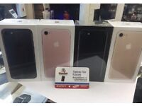 IPHONE 7 128GB BRAND NEW SEAL BOX 12 Month APPLE WARRANTY & SHOP RECEIPT