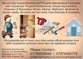 Assistant Building Maintenance Staffs Required - Part-Time £7.50/hour and Full time £12k/Year.