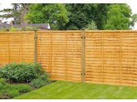 X12 fence panels, 70clips, 4posts