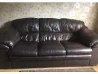 Sofa, armchair and footstall