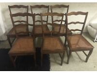 6 x Wallis and Gambier Dining Chairs