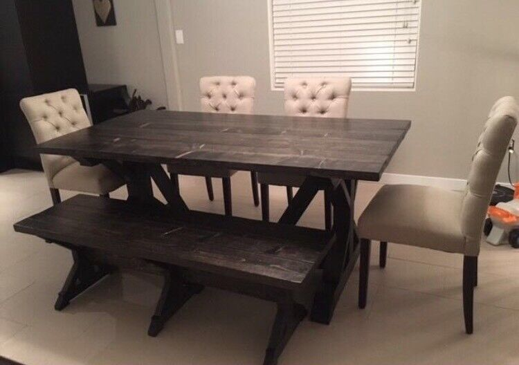 Dining Table Matching Bench