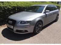 55 Audi A6 S Line Estate 2.0 TDI 140 Manual FSH