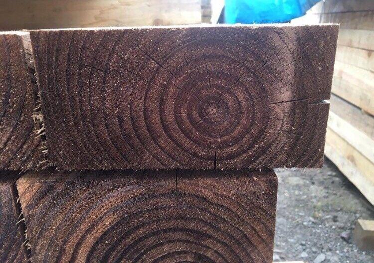 🦋Tanalised Timber Sleepers // Brown