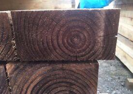 🌟Tanalised Timber Sleepers // Brown