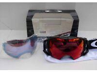 Oakley Airbrake Ski goggle BNIB prizm torch and sapphire lens