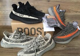 Brand New Adidas Yeezy Boost 350 V2 with Receipt, Box, Bag, Socks and Keychain