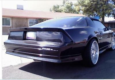 Chevy Camero Tail Light Covers 1982 - 1992 Wade Taillight Blackouts Smoke (Smoke Tail Light Covers)