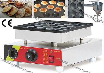 Commercial Nonstick Electric Mini Dutch Pancake Maker Poffertjes Grill Machine