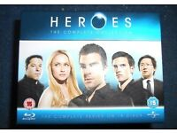 Complete Heros Collection on Blu Ray