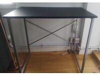 Black Computer Desk / Table, Office Workstation