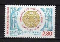 France : 1994 Y&t 2912 Centenaire De La Grande Loge De France Neuf ( Mnh ) -  - ebay.es