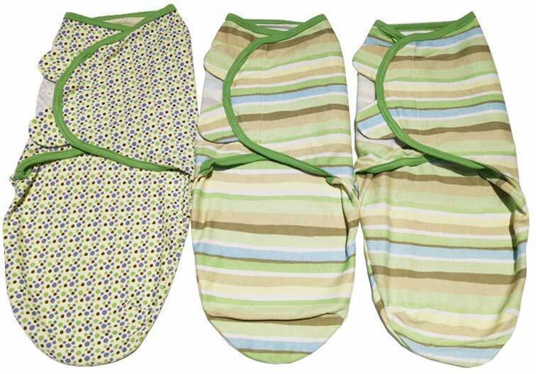 Swaddle Blanket, Adjustable Infant Baby Wrap, Breathable Sof