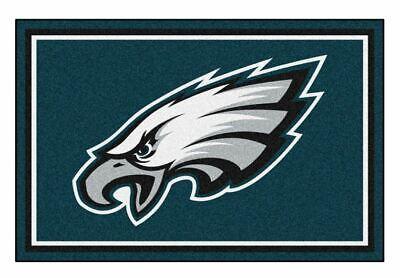 Fanmats NFL Philadelphia Eagles Area Rug Floor Mat, 5' x 8', 60