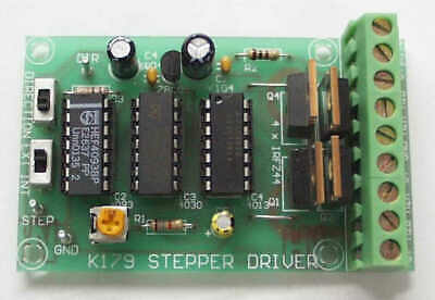 Unipolar Stepper Motor Driver Kit 60v 49a Real Power Mosfets No Microchips K179