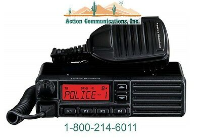 New Vertexstandard Vx-2200 Uhf 400-470 Mhz 45 Watt 128 Channel Two Way Radio