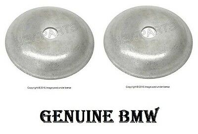 (For BMW E36 E46 330i Set of 2 Rear Lower Spacer Plate for Shock Mount Genuine)