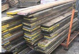 80p per foot used planks