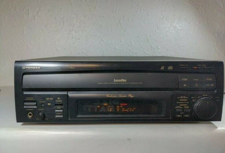 Pioneer Laser Disc Player CLD-D501 CD CDV LD - No Remote - Tested Works
