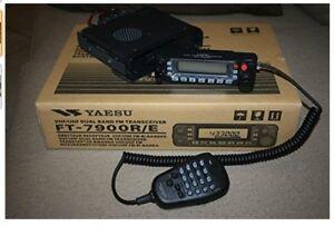 Radio amateur VHF-UHF Yeasu  YA-FT7900R (almost not used)