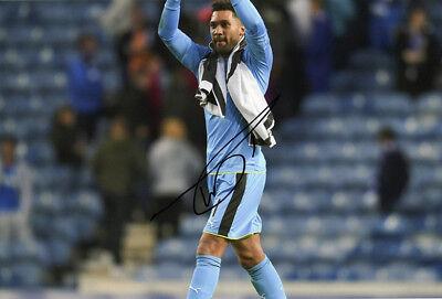 Wes Foderingham, Rangers FC, signed 12x8 inch photo. COA.