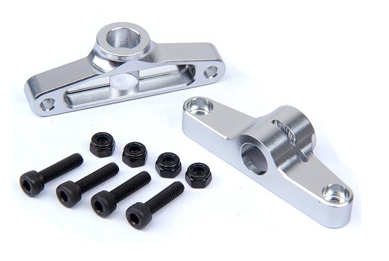 Car Parts - CNC metal Rear Body Fixer silver for 1/5 scale hpi km RV baja 5t rc car parts