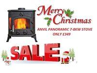 STOVES JAN SALE !!! multi fuel stoves flue liner kits twin wall flexible flue liner slate hearth