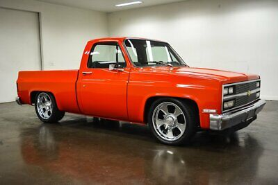 1982 Chevrolet C-10  1982 Chevrolet C10  1010 Miles Red Pickup Truck 5.3 Liter LS V8 4L60E Automatic