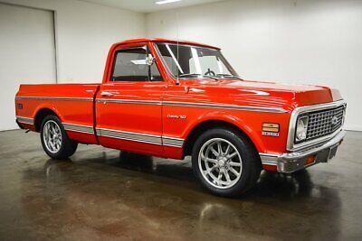 1972 Chevrolet C-10 Custom 1972 Chevrolet C10 Custom 47438 Miles Red Pickup Truck 350 Chevrolet V8 Turbo 35