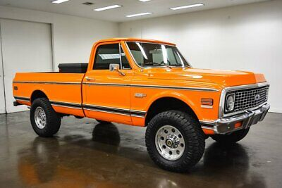 1971 Chevrolet K20 Cheyenne Super 1971 Chevrolet K20 Cheyenne Super 23455 Miles Hugger Orange Pickup Truck 502 Big