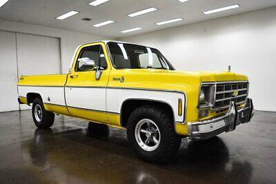 1978 Chevrolet Silverado 1500 Big 10 1978 Chevrolet Silverado Big 10 58860 Miles Yellow Pickup Truck 350 Chevrolet V8
