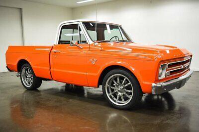 1967 Chevrolet C-10 Custom 1967 Chevrolet C10 Custom 690 Miles Orange Pickup Truck Aluminum Headed ZZ4 350