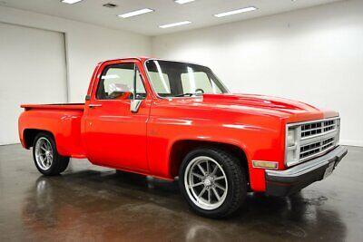 1987 Chevrolet Silverado 1500 LS SWB 1987 Chevrolet Silverado LS SWB 40 Miles RED Pickup Truck 6.0L LS V8 4L60