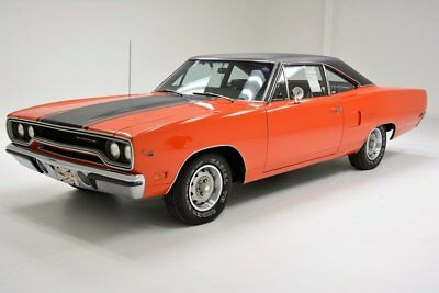1970 Plymouth Road Runner : Over 90% Original 383ci V8 4-Speed Transmission 2 Owner