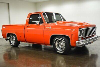 1978 Chevrolet C-10 Silverado 1978 Chevrolet C10 Silverado 19954 Miles Orange Pickup Truck ZZ4 350 V8 Turbo 35
