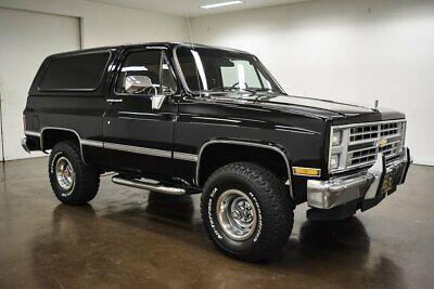 1985 Chevrolet K-5 Blazer  1985 Chevrolet K-5 Blazer  54421 Miles Black SUV 350 Chevrolet V8 700R4 Automati