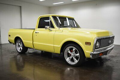 1972 Chevrolet C-10  1972 Chevrolet C10  2308 Miles Yellow Pickup Truck 350 Chevrolet V8 Turbo 350