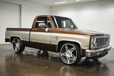 1984 Chevrolet Silverado 1500  1984 Chevrolet Silverado  490 Miles Brown Pickup Truck 6.2L LS3 V8 Automatic w/