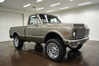 1972 Chevrolet C-10  1972 Chevrolet C10  89400 Miles Charcoal Gray Pickup Truck 350 Chevrolet V8 Turb