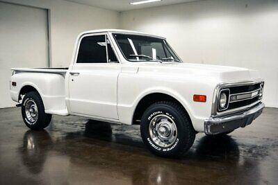 1970 Chevrolet C-10 Stepside 1970 Chevrolet C10 Stepside 4727 Miles White Pickup Truck 350 Chevrolet V8 4 Spe