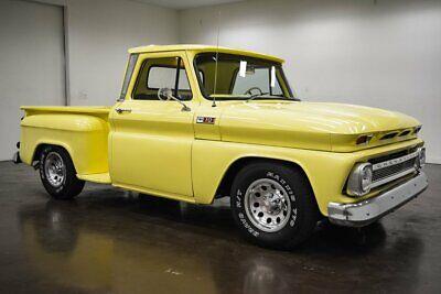 1965 Chevrolet C-10  1965 Chevrolet C10  75840 Miles Yellow Pickup Truck 5.3 Liter LS V8 4L60E