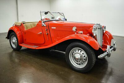 1952 MG MK II TD  1952 MG MK II TD  82847 Miles RED Convertible Inline 4 4 Speed  Manual