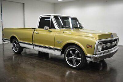 1970 Chevrolet C-10 Custom 1970 Chevrolet C10 Custom 4469 Miles Gold Pickup Truck 350 Chevrolet V8 Turbo 35