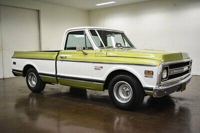 1972 Chevrolet C-10  1972 Chevrolet C10  40040 Miles Green Pickup Truck 350 Chevrolet V8 Turbo 350