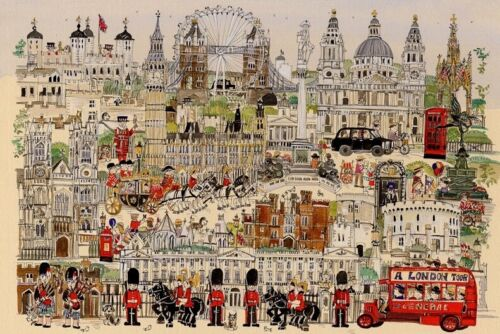 Hot London Style Educational 1000 Piece Jigsaw Puzzles  Adults Kids Puzzle Toy