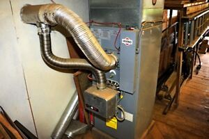 Oil Burning Forced Air Furnace